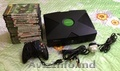 Vind Xbox+jocuri pentru Xbox si Sony PlayStation 1